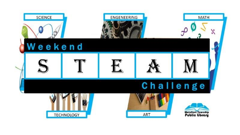 a picture of weekend steam challenge logo